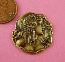 BEAUTIFUL BRASS BOHEMIAN MAIDEN-1 PC(s)