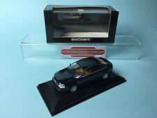 MINICHAMPS 1/43 SCALE AUDI A6 SALOON 1997 BLUE METALLIC MODEL DIECAST BOXED