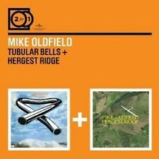 MIKE OLDFIELD - 2 FOR 1: TUBULAR BELLS/HERGEST RIDGE 2 CD NEU