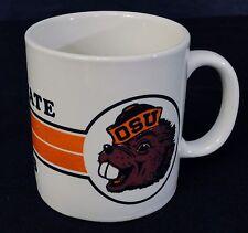 Oregon State Beavers Coffee Mug Tea Cup Heavy Orange Hot Chocolate College