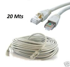 20M METER RJ45 CAT5E ETHERNET NETWORK INTERNET LAN PATCH MODEM ROUTER LEAD CABLE