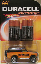 """Hot Wheels CUSTOM '85 FORD BRONCO """"Duracell Coppertop"""" RR LTD #14 of 25 Made!!!"""