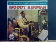 WOODY HERMAN  The new Swingin' Herman Herd  LP     RARE !