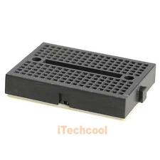 Mini Nickel Plating Breadboard 170 Tie-points for Arduino Shield Black #T1K