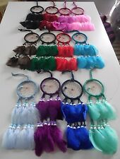 """Wholesale set of 100 Dreamcatchers 3"""",hand made in Mexico,Swap meet,Gift stores"""