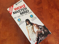 RARE VINTAGE 1975 INVICTA WORD MASTER MIND FAMILY GAME COMPLETE - SHIPS FAST