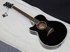 DEAN Performer E LEFTY acoustic electric GUITAR new Black - LEFT HANDED