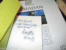 Chroniques d'outre-chair Robert GOFFIN Envoi à Claude guillot EO 1975 Poésies