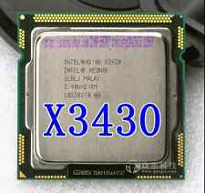 Free shipping Intel Xeon X3430 2.4GHz/6MB Quad-Core CPU LGA1156 SLBLJ Processor