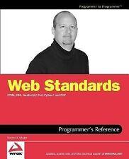 Web Standards Programmer's Reference : HTML, CSS, JavaScript, Perl, Python,...