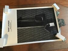 SAINT LAURENT YSL Monogram 19.5x29.5 Two Sided Store Ad Poster New In Tube
