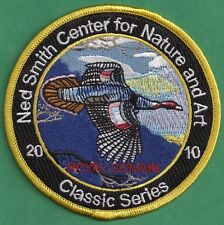 "Pa Pennsylvania Fish Game Commission Related 2010 Ned Smith Turkey 4"" Patch"
