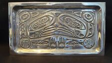 Alaskan Pewter Cheese Tray