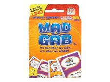 Mad Gab Picto-Gabs Card Game