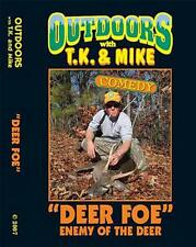 New Outdoors with TK and Mike DVD Comedy DEER HUNTIN foe 4 video funny hunting
