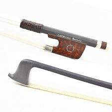 Rare Pure Carbon Fiber Violin Bow Pernambuco Performance TIP for Pro.Player