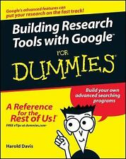 Building Research Tools with Google For Dummies-ExLibrary