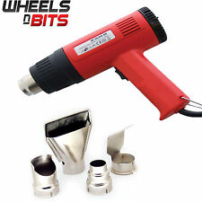 NEW 1500 Watt Heat Gun with 4 Nozzles Two Heat Settings 375c & 495c hot air gun
