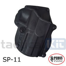 New Fobus Springfield XD XDM Paddle Holster Left Handed UK Seller SP-11 LH