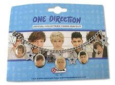 ONE DIRECTION STAR CHARM SILVER COLORED BRACELET NEW OFFICIAL PICTURES JEWELRY