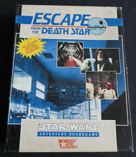 Star Wars Escape From The Death Star Board Game West End Games Complete OOP