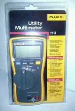 FLUKE 113 TRUE RMS MULTIMETER, FREE PRIORITY SHIPPING!!!