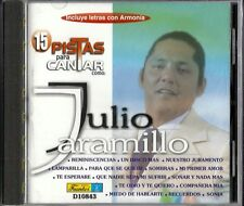 15 Pistas Para Cantar Como Julio Jaramillo Latin Music CD New