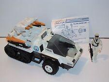 1985 GI JOE SNOW CAT 100% COMPLETE w/ FROSTBITE v1 - HASBRO