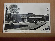 Postcard Christie hospital Manchester 1960's Real photo .Xc3