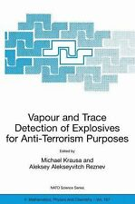 Vapour and Trace Detection of Explosives for Anti-Terrorism Purposes 167...