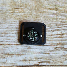 "Mini Watchband Compass Black Background fits 3/4"" watch band or smaller"