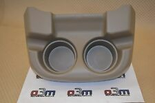 2004-2007 Ford F-250 - F-550 Pebble tan Floor Console Cup Holder OEM new