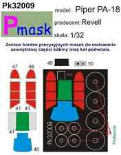 PIPER PA-18 PAINTING MASK TO REVELL KIT #32009 1/32 PMASK