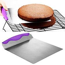 Fondant Paste Tool Lifter Transfer Cake Shovel Knife Plate Tray Stainless Steel