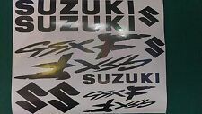 Suzuki GSXF  Decal/ Sticker Pack -- ALL COLOURS AVAILABLE -- GSX F GSX-F