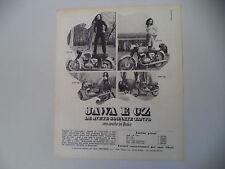 advertising Pubblicità 1970 MOTO CZ 125/175 e JAWA 350/250