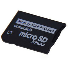 1X Mini Micro SD SDHC TF to Memory Stick MS Pro Duo PSP Adapter Converter Card