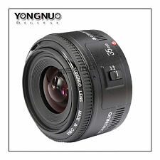 YONGNUO YN35MM 35mm F/2 F2 Large Aperture Auto Focus AF Lens Wide Angle fr Canon