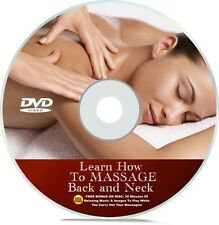 Massage DVD Learn How To Massage Back, Neck, Shoulders For Back Pain Lesson
