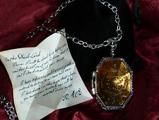 Horcrux Locket from the cave with R.A.B. note.Harry Potter and Half Blood Prince