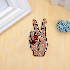 1PC Finger Patch Hand Patch Sewing Notions Patch On Iron for Embroidered Crafts