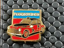 PINS PIN BADGE CAR PEUGEOT  203 SIGNE HELIUM
