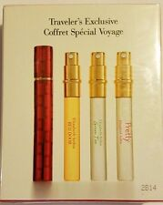 Elizabeth Arden Refillable Purser with Red Door, Pretty & Green Tea 0.33Oz 10ml