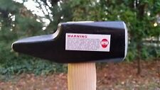 NEW Picard French pattern Blacksmith forging hammer 3.3 lbs 1500 grms cross pein