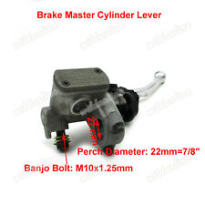 Right Handle Brake Master Cylinder Lever Fit XR250R XR400R CR125R CR250R CRF250R