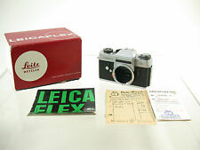 LEICA Leicaflex SL body Gehäuse classic mechanic premium R top box /17
