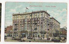 Canada, King Edward Hotel Toronto 1908 Postcard, A583