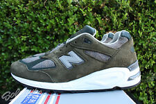 NEW BALANCE 990 SZ 7 AGE OF EXPLORATION OLIVE GREY MADE IN USA M990DSU2