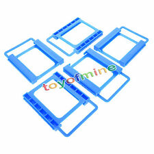 5x2.5 to 3.5 Adapter Bracket SSD HDD Notebook Mounting Tray Caddy Bay Post