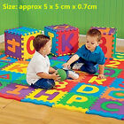 Colorful Puzzle Kid Educational Toy A-Z Alphabet Letters Numeral Foam Mat OE